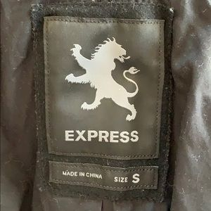 Black Express Coat size small